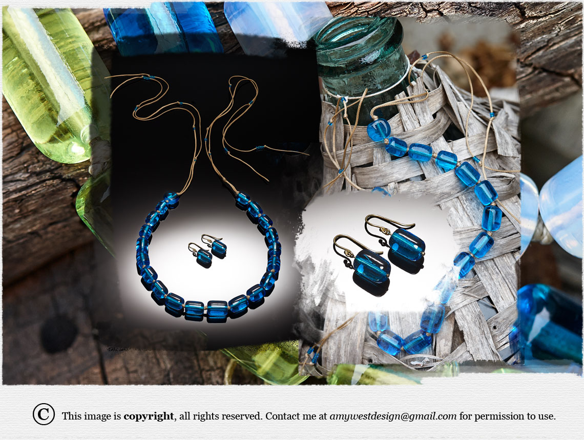 Dramatic Barrels Collection Jewelry by Amy West
